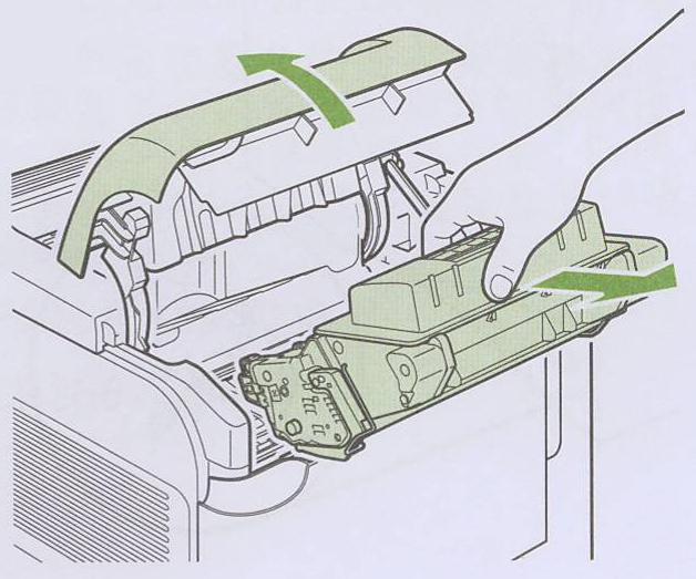 instructions d'installation du kit de maintenance hp p3015