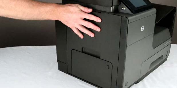 HP OfficeJet Pro X476dn MFP HP OfficeJet Pro X476 Removing and