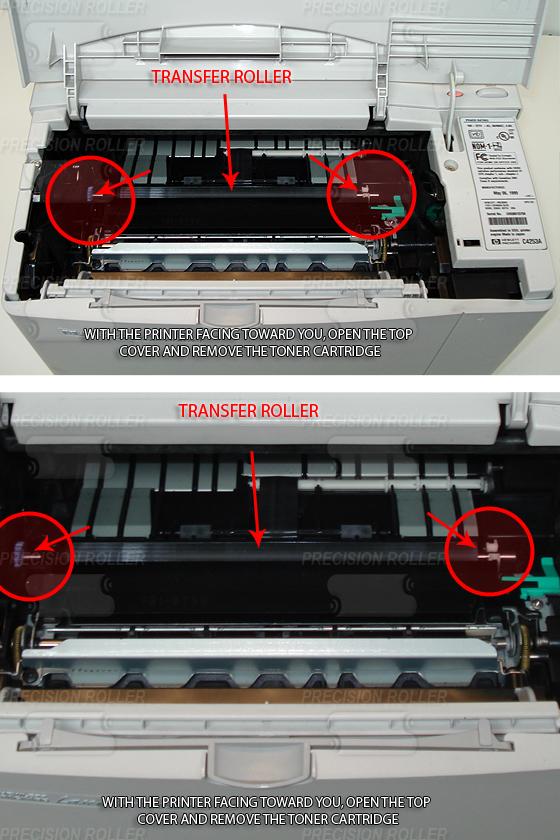 HP 4000 Roller Maintenance Kit New w//Instructions