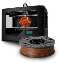 3D Filament Palette at Precision Roller