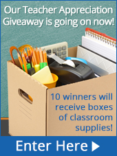 5th Annual Teacher Appreciation Giveaway