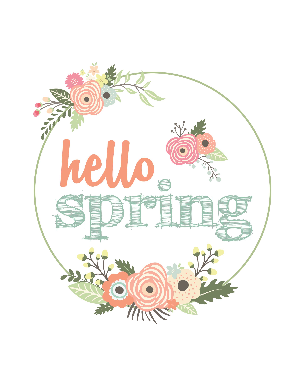 vintage spring flowers 8x10 printable precision printables