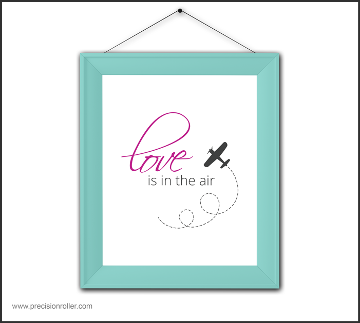 Love Is in the Air Free Printable