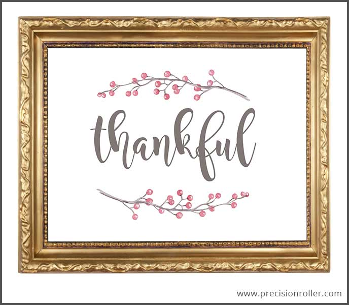 picture regarding Thankful Printable identify Grateful 8x10 Printable - Accuracy Printables