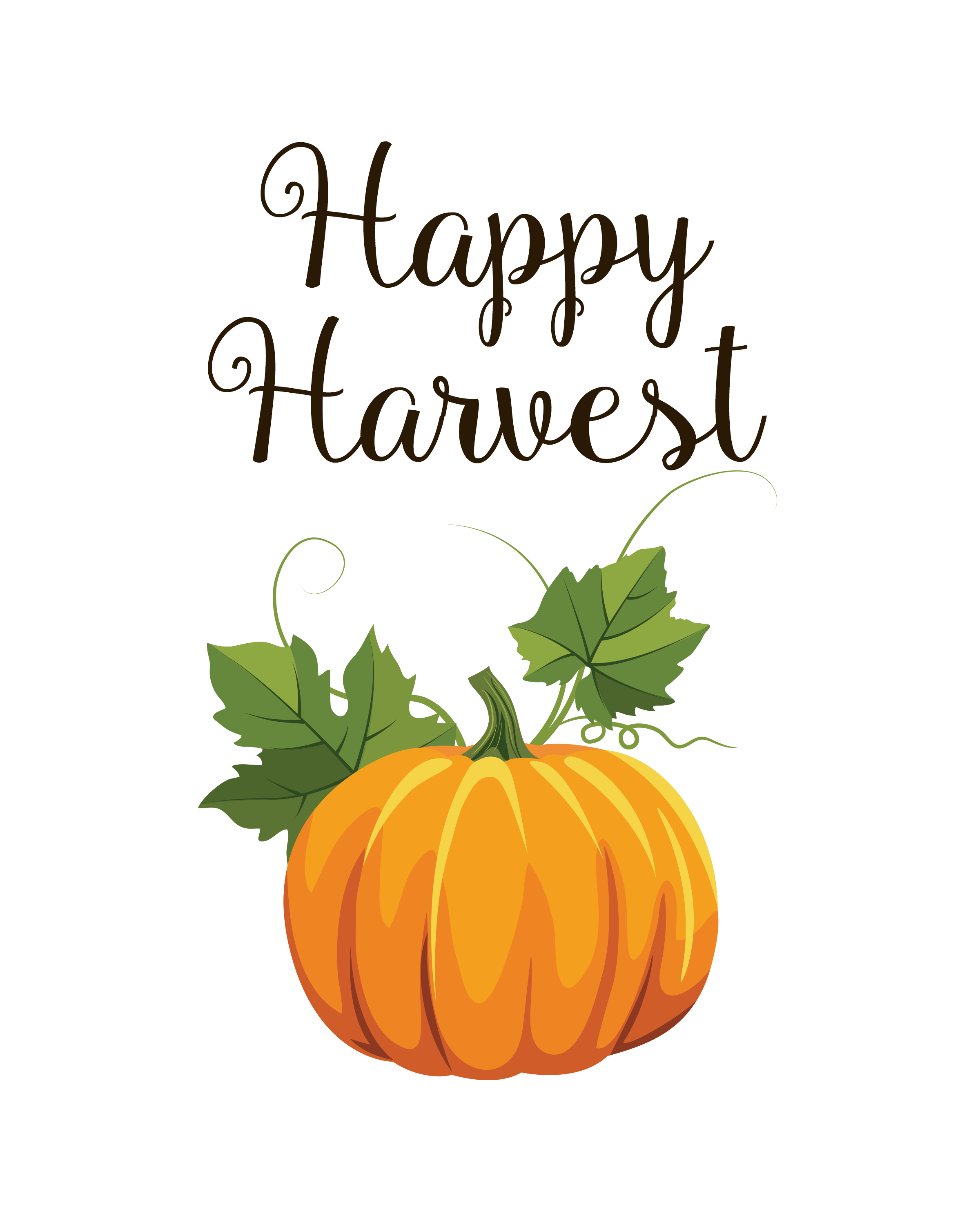 picture relating to Printable Fall Pictures referred to as Pleasurable Joyful Harvest Drop 8x10 Printable - Accuracy Printables