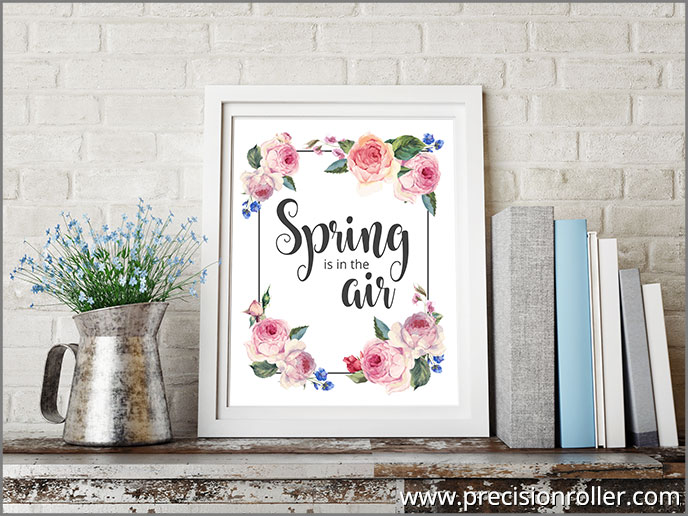 Spring Is in the Air 8x10 Printable
