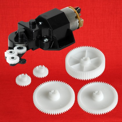 HP DesignJet Z2100 44-in Photo Printer Starwheel Motor Assembly Genuine