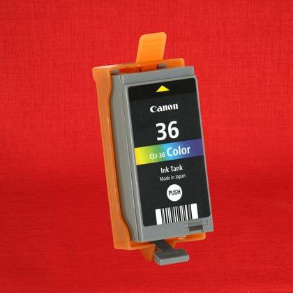 Canon PIXMA iP100 Color Ink Cartridge (Genuine) CLI36