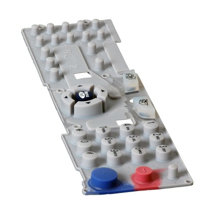 Rubber Key Pad for the Brother intelliFAX-2820 (large photo)