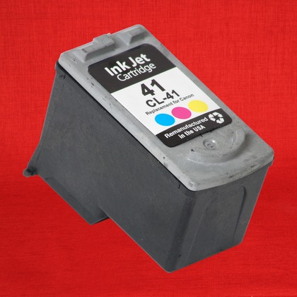 Canon 0617B002 (CL41) OEM High Yield Color Ink Cartridge 0617B002