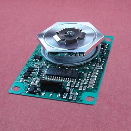 Ricoh Aficio MP 4500SPF Polygon Mirror Motor With Circuit Board Genuine