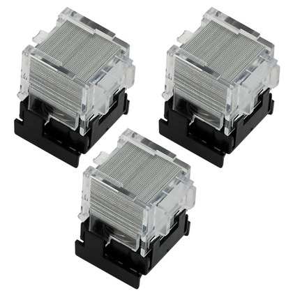 staple cartridge box of 3 compatible with canon staple. Black Bedroom Furniture Sets. Home Design Ideas