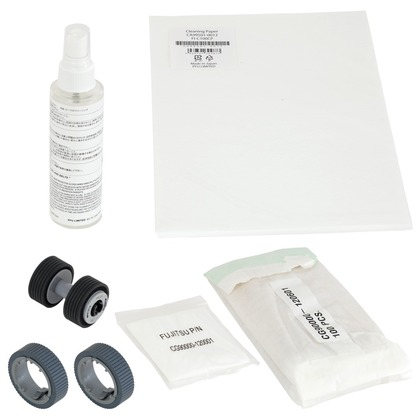ScanAid Cleaning and Consumable Kit for the Fujitsu fi-7140 (large photo)