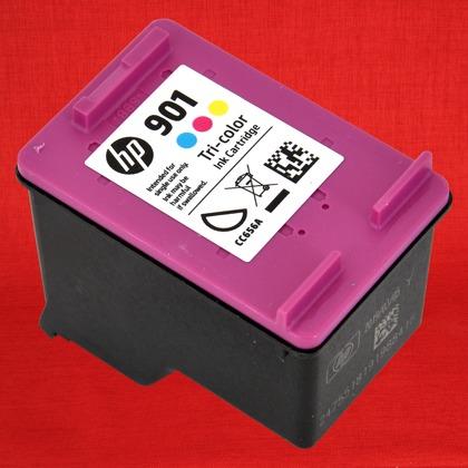 Tri Color Inkjet Print Cartridge For The HP OfficeJet J4580 Large Photo