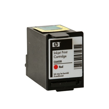 Red Imprinter Ink Cartridge for the NCR Tellerscan 210E (large photo)
