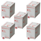 Gestetner CP6244+ Red Ink, Box of 5 (Genuine)