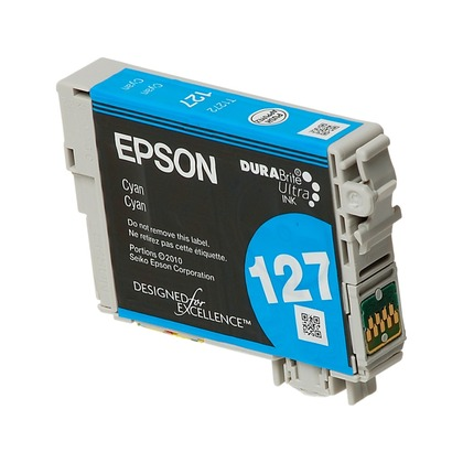 Extra High Yield Cyan Ink Cartridge for the Epson WorkForce 630 (large photo)