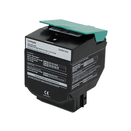 Lexmark C546U1KG Black Extra High Yield Toner Cartridge (large photo)