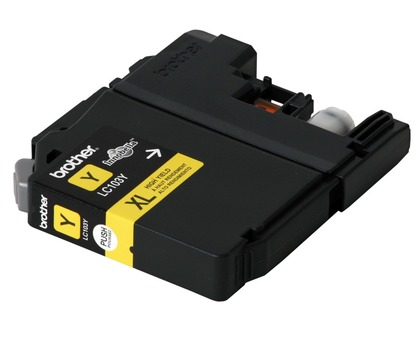 Innobella Yellow Ink Cartridge for the Brother DCP-J152W (large photo)