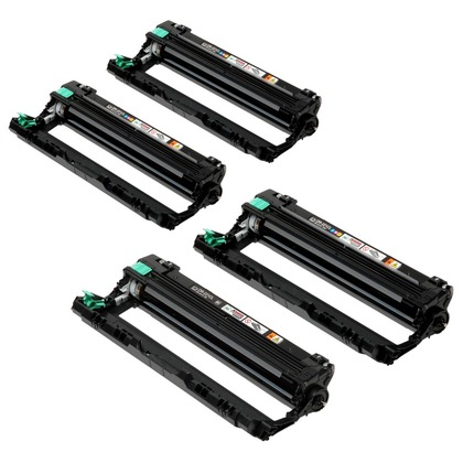 4 pc Drum Unit Set for the Brother HL-3180CDW (large photo)