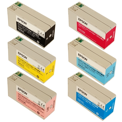 Discproducer Ink Cartridge Set for the Epson DiscProducer PP-100N (large photo)