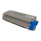 Okidata MPS3537mc Cyan Toner Cartridge (Genuine)