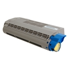 Okidata MPS3537mc Yellow Toner Cartridge (Genuine)