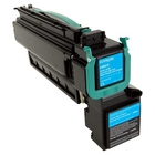 Lexmark XS795dte Cyan Toner Cartridge (Genuine)