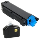 Kyocera ECOSYS M6535cidn Cyan Toner Cartridge (Genuine)