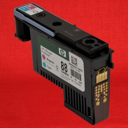hp officejet pro k8600 88 magenta cyan printhead genuine g7665 rh precisionroller com