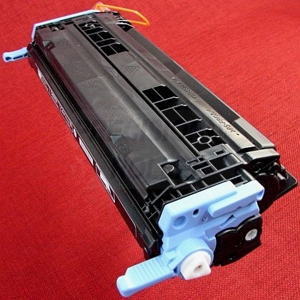 Black Toner Cartridge for the HP Color LaserJet 2600n (large photo)
