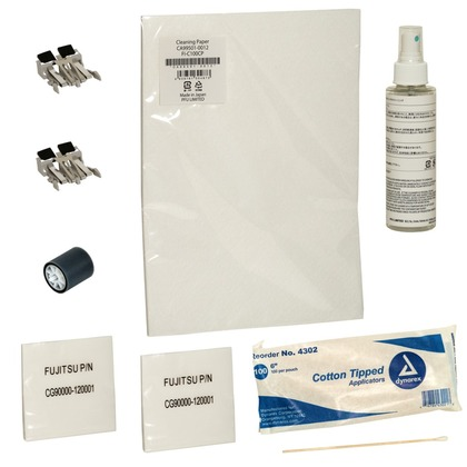 ScanAid Cleaning and Consumable Kit for the Fujitsu fi-5110EOXM (large photo)