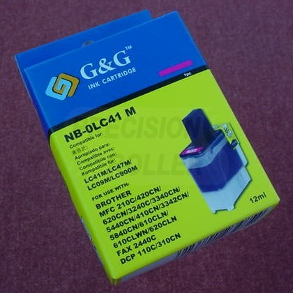 Magenta Ink Cartridge for the Brother MFC-5440CN (large photo)