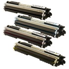 HP Color LaserJet Pro CP1025nw Toner Color Cartridges - Set of All 4 (Compatible)