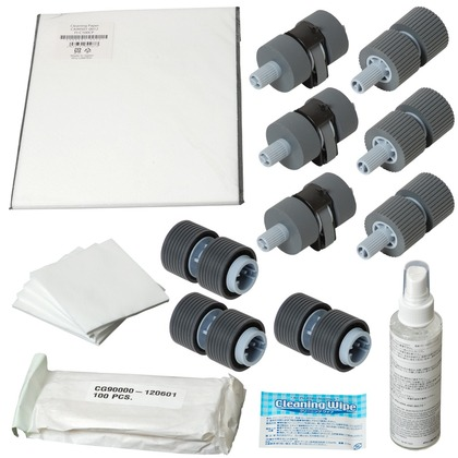 Fujitsu CG01000-527501 ScanAid Cleaning and Consumable Kit (large photo)