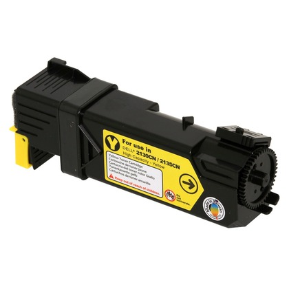 Dell 330-1391 Yellow High Yield Toner Cartridge (large photo)