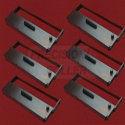 Ribbon Cartridge - Purple - Package of 6 for the TEC RE-2000 (large photo)