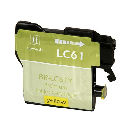 Yellow Inkjet Cartridge for the Brother MFC-6490CW (large photo)