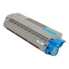 Okidata C610CDN Cyan Toner Cartridge (Compatible)