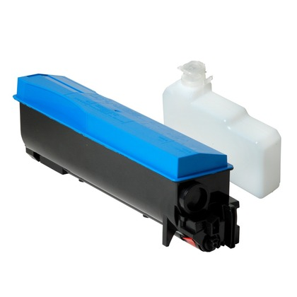 Kyocera TK562C Cyan Toner Cartridge (large photo)