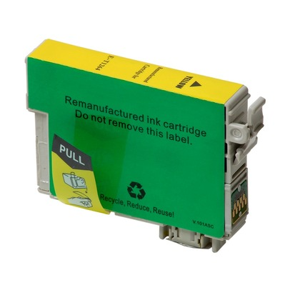 High Capacity Yellow Ink Cartridge for the Epson WorkForce WF 3530 (large photo)