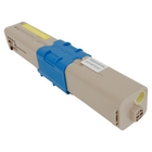 Okidata CX2731MFP Yellow Toner Cartridge (Compatible)