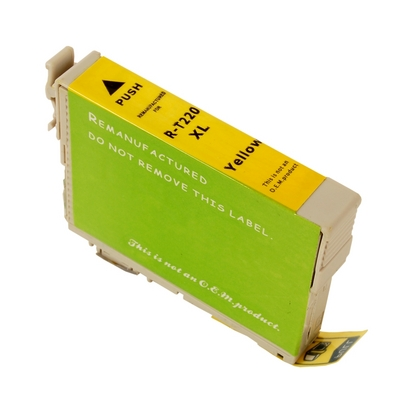 Epson T220XL420 Yellow High Yield Ink Cartridge (large photo)