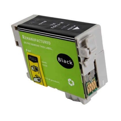 Hi Yield Black Ink Cartridge for the Epson WorkForce WF 7610 (large photo)