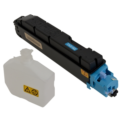 Cost-Saving Compatible® Cyan Toner Cartridge for use in Kyocera ECOSYS  P7040cdn