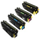 HP 508X-SET Toner Cartridges - Set of 4 - High Yield
