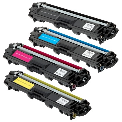 Toner Cartridges - Set of 4 for the Brother HL-3180CDW (large photo)
