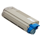 Okidata C5500DN Cyan High Yield Toner Cartridge (Compatible)