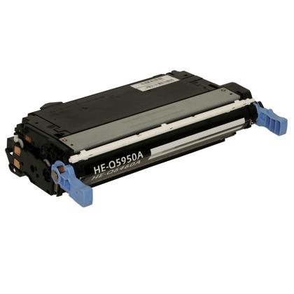 Cost-Saving Compatible® Black Toner Cartridge for use in HP Color LaserJet  4700