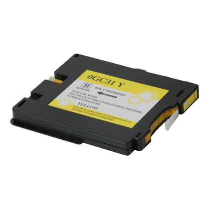 Yellow Ink Print Cartridge for the Ricoh Aficio GX e3300N (large photo)